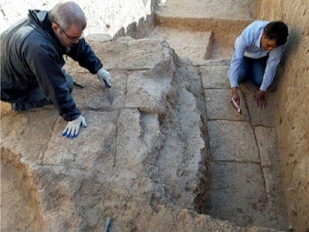 ساختارهای معماری دوران تاریخی و اسلامی در تپه کوشکله سقز کشف شد