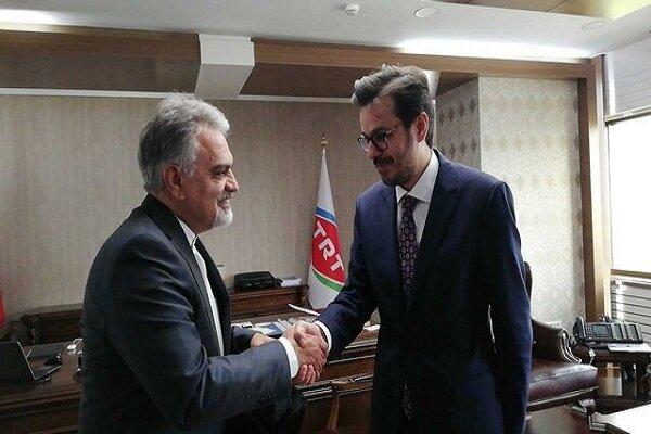 TRT, İran'ın Ankara Büyükelçisi'ni ağırladı