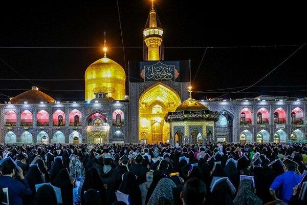 اعلام جزئیات برگزاری مراسم شب های قدر در حرم رضوی