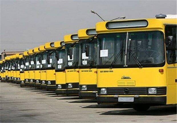 توقف تردد اتوبوسهای دودزا در پایتخت