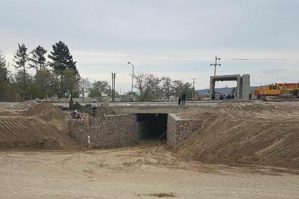 عملیات احداث ۳ زیرگذر جاده ای در استان مرکزی رو به اتمام است