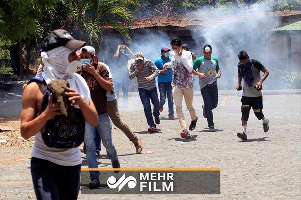 تصاویری از ناآرامیهای جاکارتا