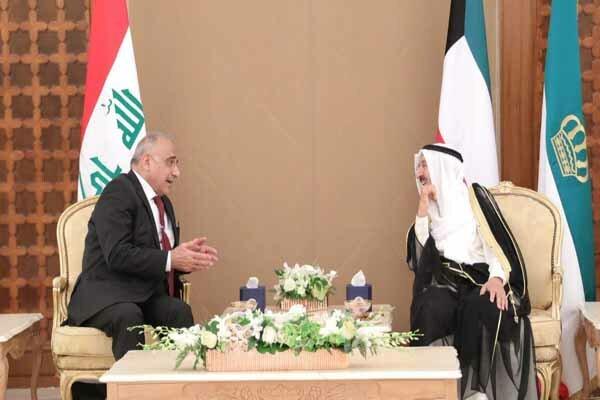 آنچه عبدالمهدی و شیخ صباح درباره اوضاع حساس منطقه گفتند
