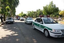 رژه خودرویی نیروهای مسلح در شهرستان صومعه سرا برگزار شد