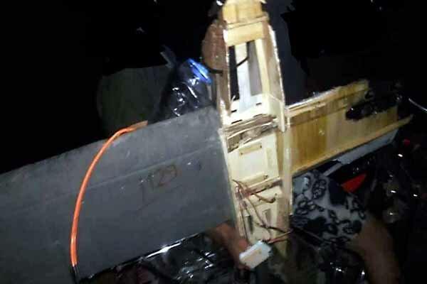 سرنگونی پهپاد تروریستها در اطراف فرودگاه نظامی حماه