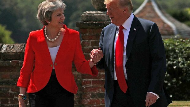 Donald Trump & Theresa May