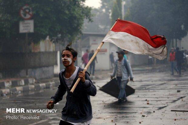 ناآرامی های بعد از انتخابات در اندونزی