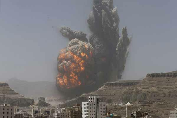 حملات موشکی و توپخانه ای ائتلاف متجاوز سعودی به شمال یمن