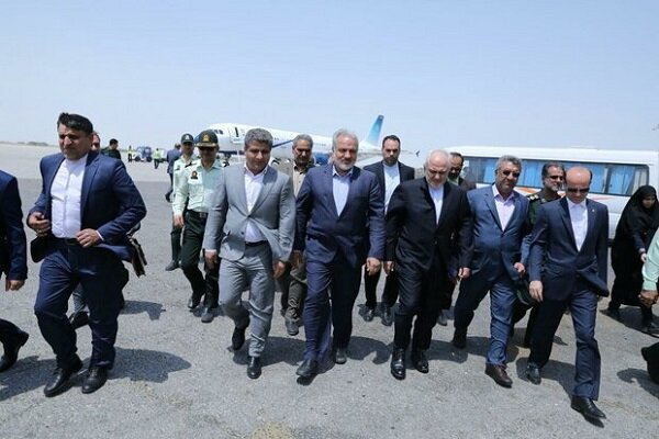 Iran's Zarif lands in Chabahar Port