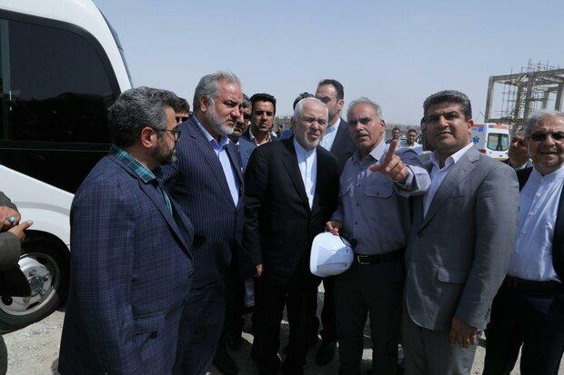 ظريف: جابهار من أولويات السياسة الخارجية لإيران