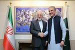 ایرانی وزیر خارجہ کی پاکستانی وزير خارجہ سے ملاقات