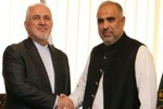 Zarif stresses support for Palestine in meeting with Pak Parl. speaker
