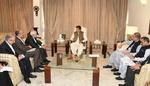 ایرانی وزیر خارجہ کی پاکستان کے وزير اعظم سے ملاقات