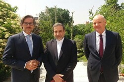 Deputy FM Araghchi, German diplomat discuss JCPOA in Tehran