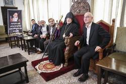 مراسم بزرگداشت امام خمینی(ره) از سوی شورای خلیفهگری ارامنه