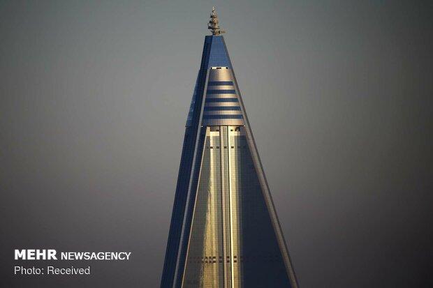 ساختمان های کره شمالی