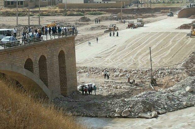 سقوط سمند از پل «بابازید» پلدختر یک کشته و یک مجروح بر جای گذاشت