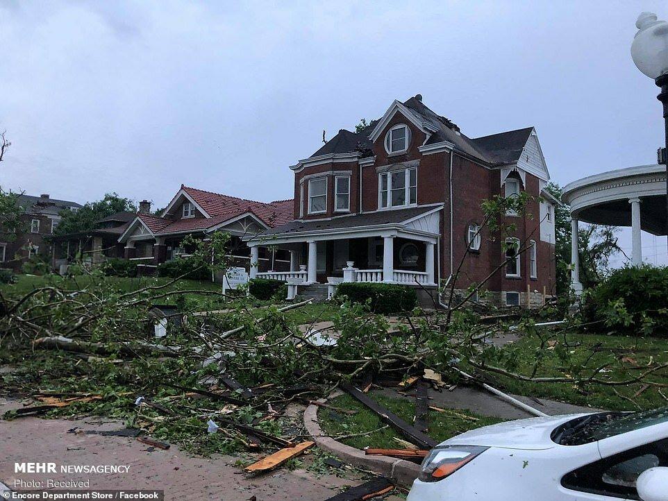 خسارات طوفان در آمریکا