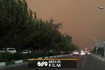 سرعت ۸۰کیلومتری باد در تهران