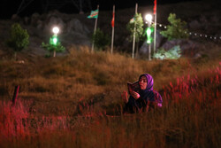 Laylat al-Qadr observed near tomb of martyrs in N Tehran