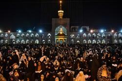 مشهد سیاه پوش شد/نوای«الهی العفو» در بارگاه منور رضوی