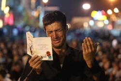 İran'daki Kadir Gecesi merasiminden kareler