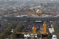 احتجاج اهالي كربلاء تنديدا بالسياسات الامريكية / فيديو