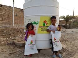 کمک های مردم لبنان و سوریه به کودکان سیل زده ایرانی