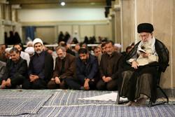 مراسم ليلة القدر بحضور قائد الثورة الاسلامية / صور