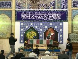مراسم احیای شب نوزدهم ماه مبارک رمضان در مسجد جابری