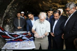 New findings at Iran's Kaldar cave were unveiled during a special ceremony on May 18, 2019.