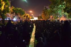 مراسم احیای شب نوزدهم ماه مبارک رمضان در مسجد بهشتی تهران
