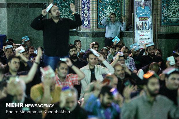 مراسم شب احیاء در امامزاده صالح (ع)