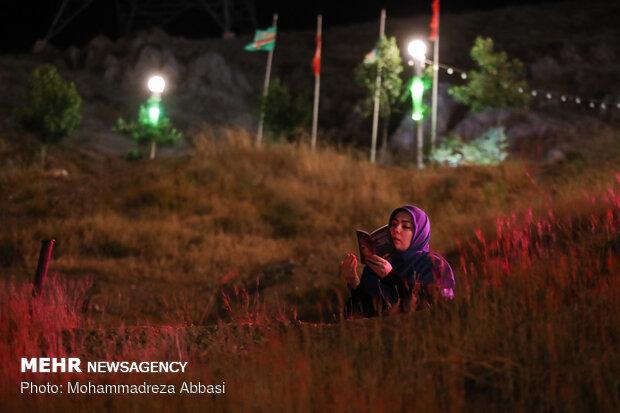 Laylat al-Qadr observed near tomb of martyrs in N Tehran