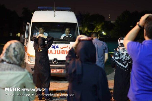 مراسم احیای شب نوزدهم ماه مبارک رمضان در باشگاه انقلاب