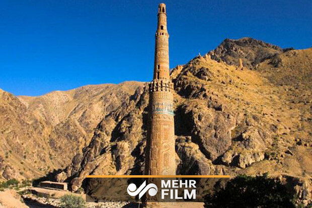 VIDEO: Minaret of Jam in Afghanistan in danger of collapse due to flooding