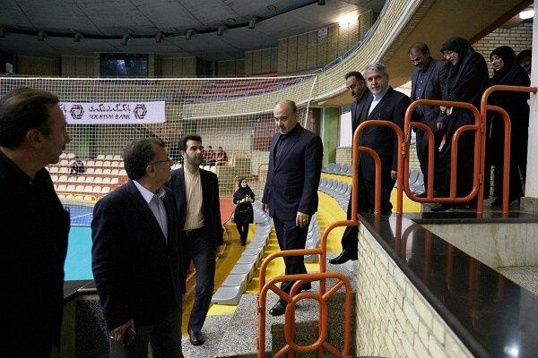 بدرقه ملی پوشان والیبال با حضور سلطانی فر و صالحی امیری