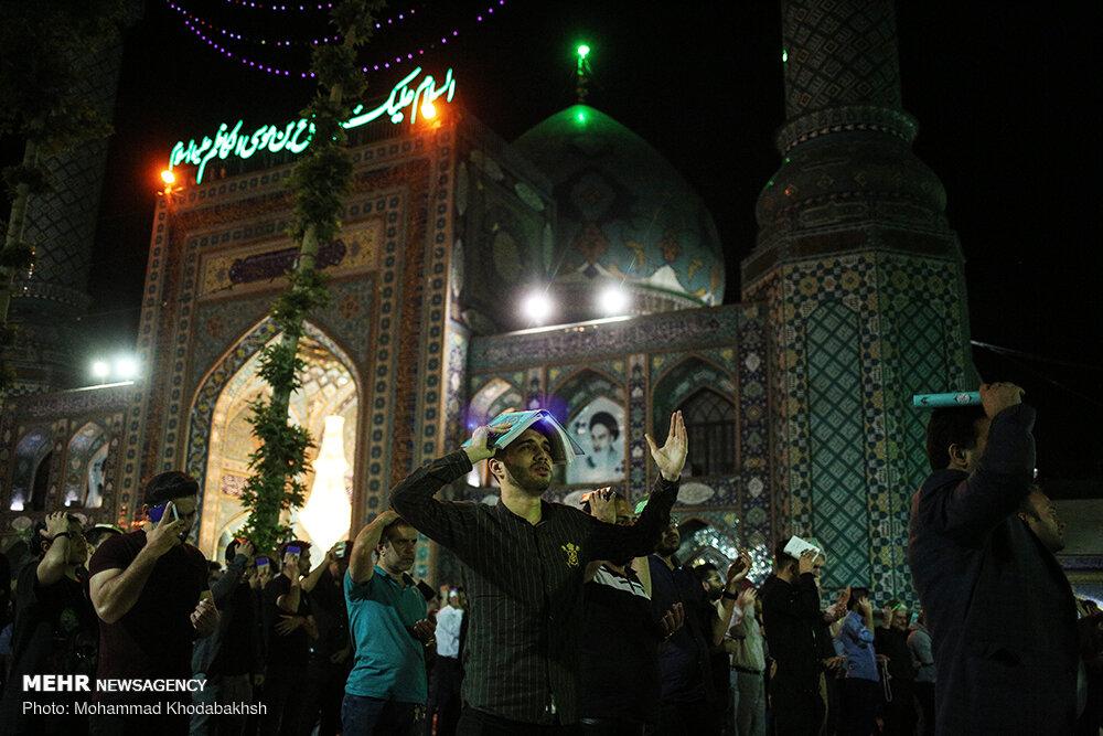 تصاویر شب قدر امامزاده صالح