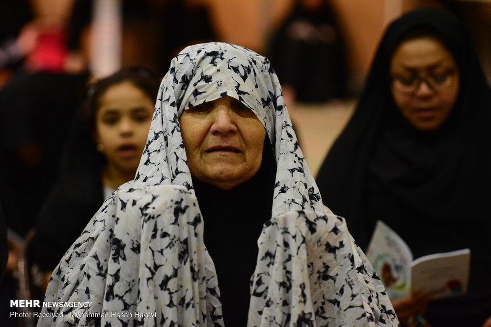 مراسم احیای شب نوزدهم ماه مبارک رمضان در مصلای آبادان