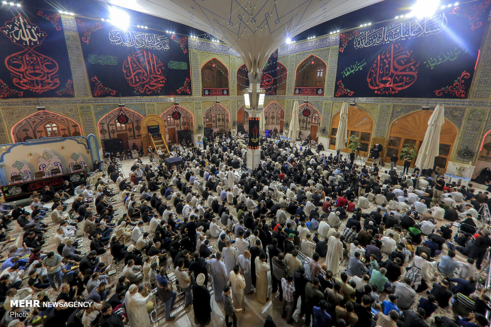 "Mehr News Agency - ""Night of Destiny"" in Imam Ali (AS"