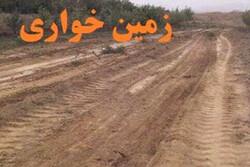 یک هکتار زمینخواری در بوشهر کشف شد