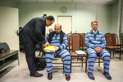 پنجمین جلسه رسیدگی به اتهامات علیرضا زیبا حالت منفرد