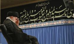 Devrim Lideri'nin huzurunda Hz. İmam Ali (a.s) için matem merasimi