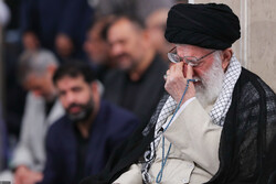 Mourning ceremony for Imam Ali with Ayatollah Khamenei in attendance