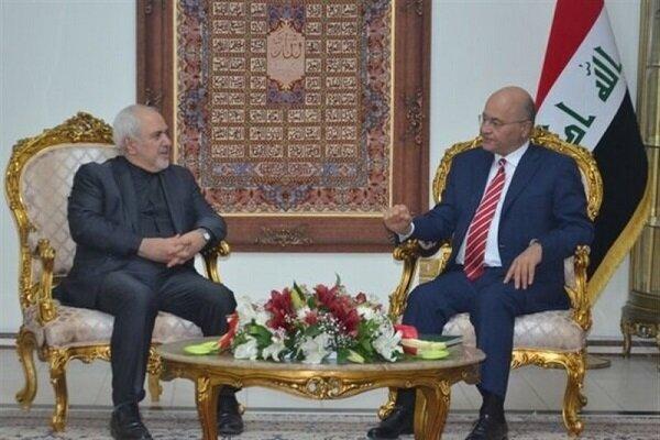 Tehran, Baghdad stress security coop. to increase regional stability