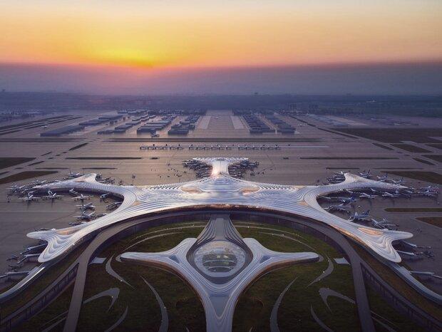 مطار في الصين