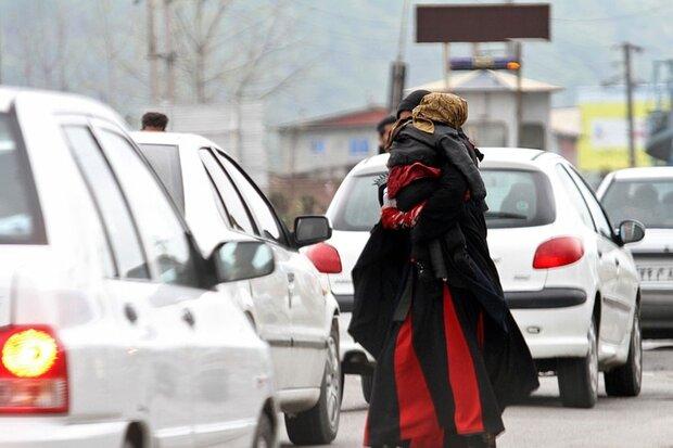 متکدیان گرگان علی رغم جمع آوری روزانه به این شغل کاذب بر می گردند