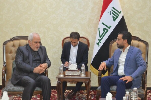 Iraqi parl. speaker calls for strengthening ties with Iran