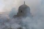 بافت تاریخی دهدشت دچار آتش سوزی شد