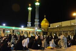 مراسم احیای شب بیست ویکم ماه مبارک رمضان در حرم عبدالعظیم حسنی(ع)